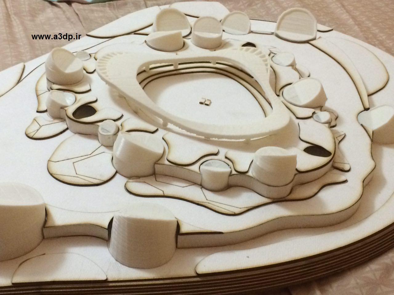 ماکت سازی با پرینتر سه بعدی