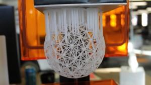 پرینت سه بعدی نمونه سه