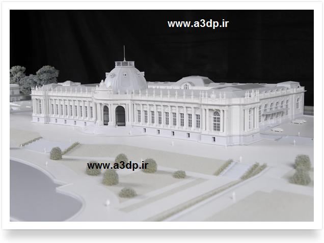 ماکت سازی نماهای کلاسیک با پرینتر سه بعدی