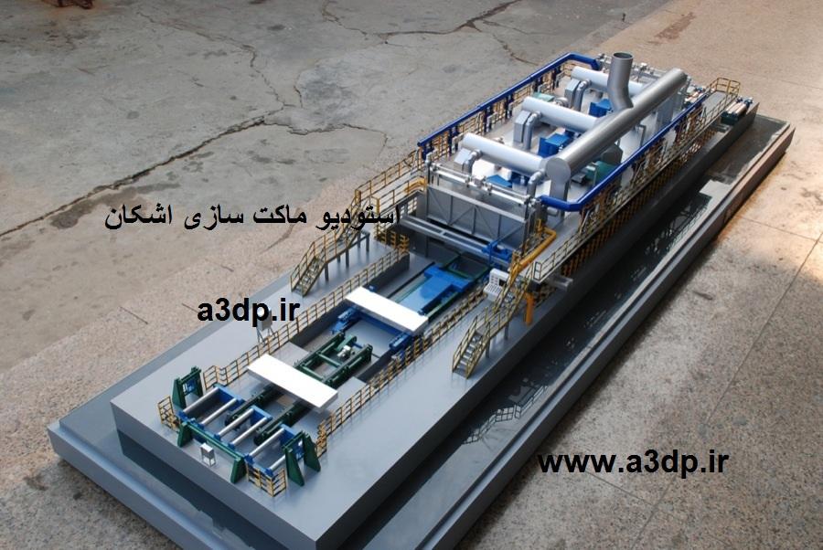 ماکت سازی پروژه های نفتی