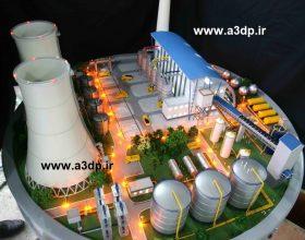 ساخت ماکت نیروگاه صنعتی