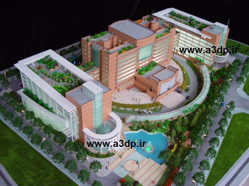 ساخت ماکت بیمارستان