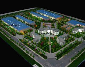 ساخت ماکت شهرک صنعتی