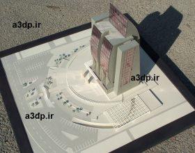 نمای ساختمان مدل سازی