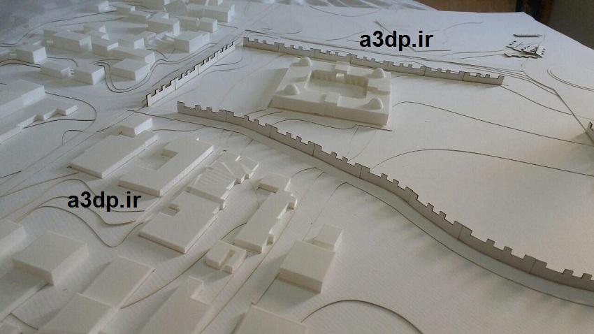 ساخت ماکت شهری