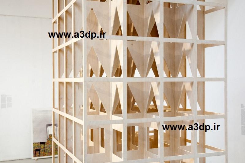 ساخت ماکت سازه ای مجمتع تجاری