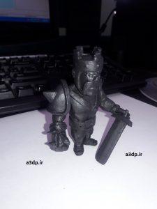 ساخت بهترین مجسمه ها با پرینتر سه بعدی