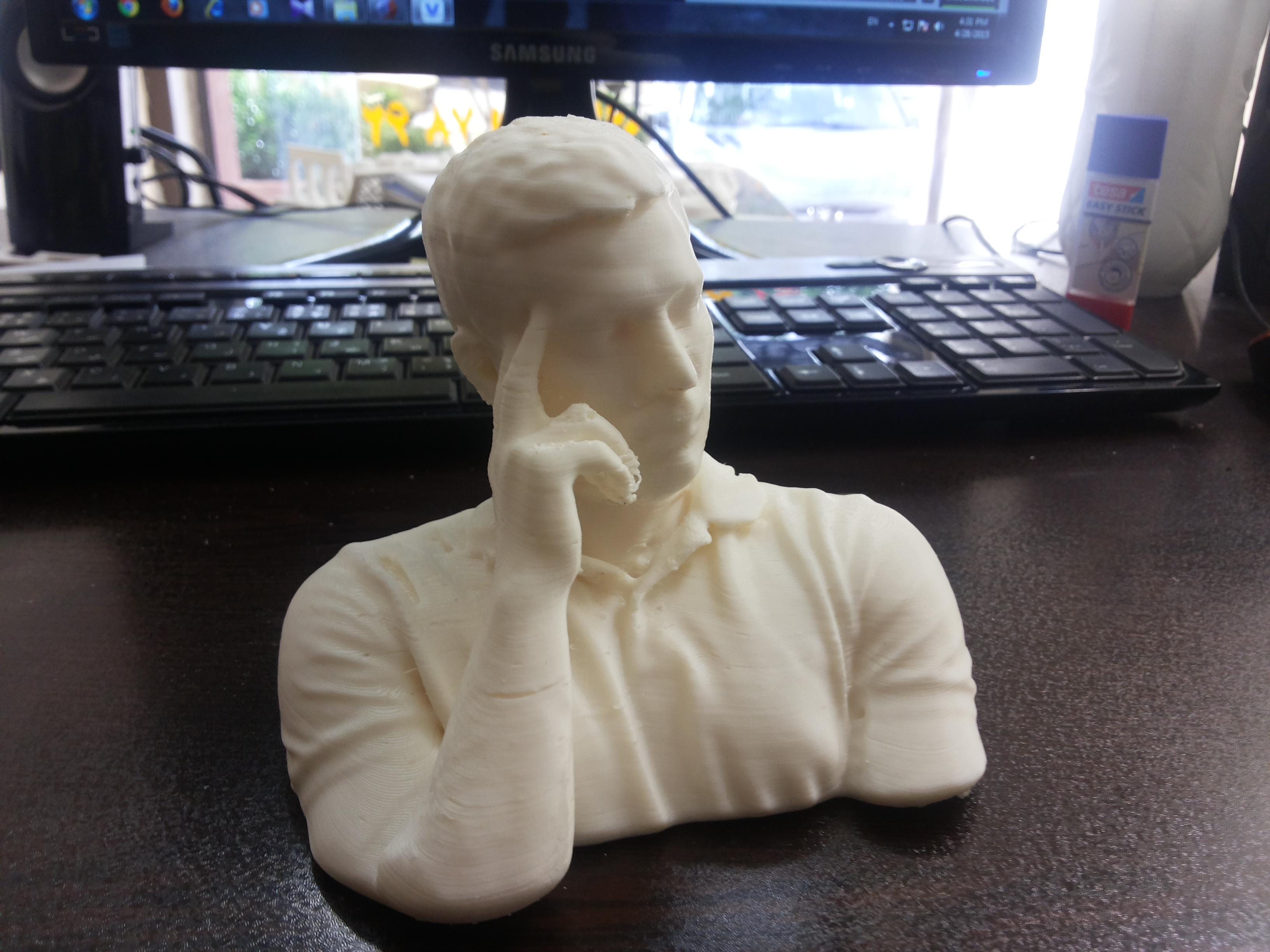 از مجسمه سازی تا پرینت سه بعدی