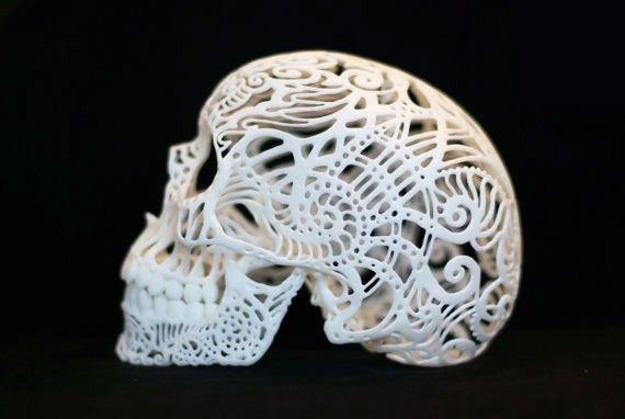 از پرینت سه بعدی اتومبیل تا جمجمه