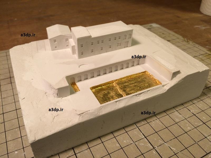 ساخت ماکت نقشه گسترده